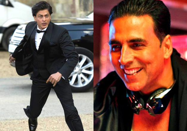 SRK was once chased by Akshay's fan