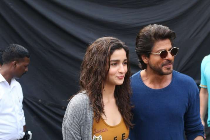 India Tv - Shah Rukh Khan and Alia Bhatt