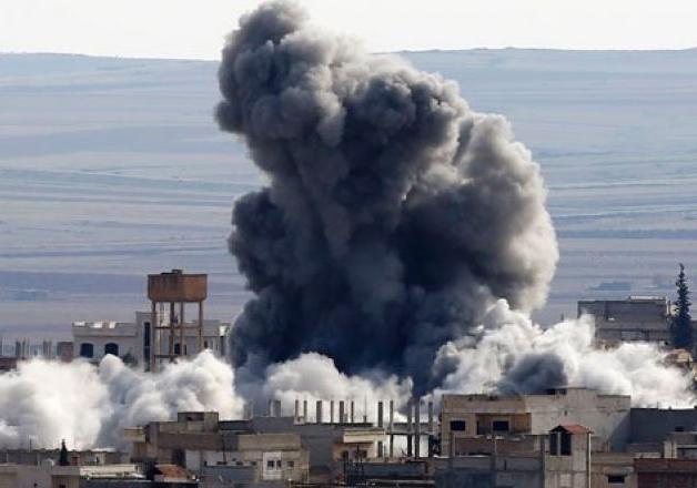 File pic - US airstrike is Syria kills 20 civilians