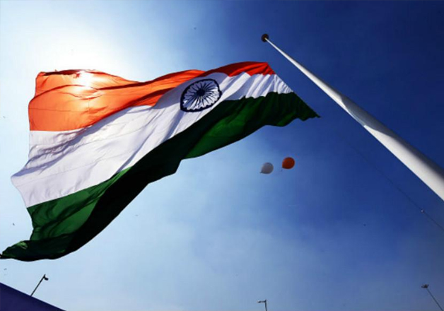 File pic - Indian national flag