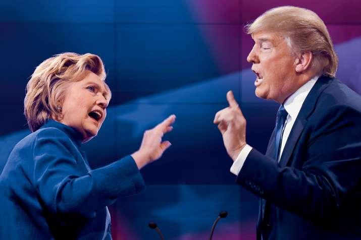 India Tv - Hillary Clinton and Donald Trump