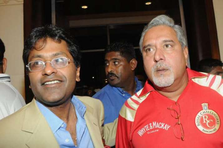 File Photo of Vijay Mallya and Lalit Modi