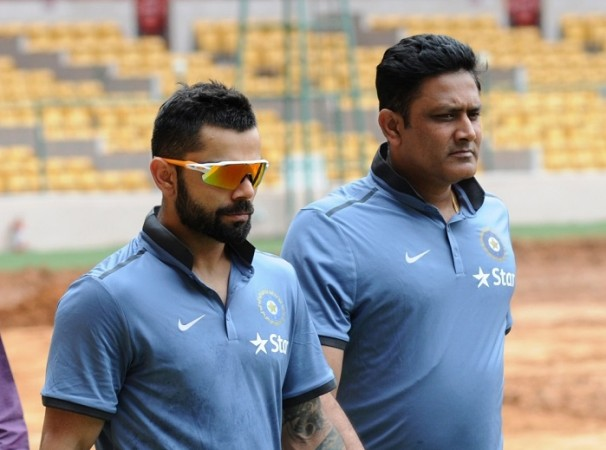 Ind Vs Eng Anil Kumble Rubbishes Ball Tampering Charges Against