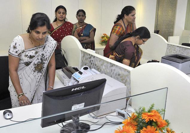 Representational pic - Indian women at work