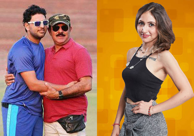 Yuvraj Singh father hits back on BB10 contestant Akanksha