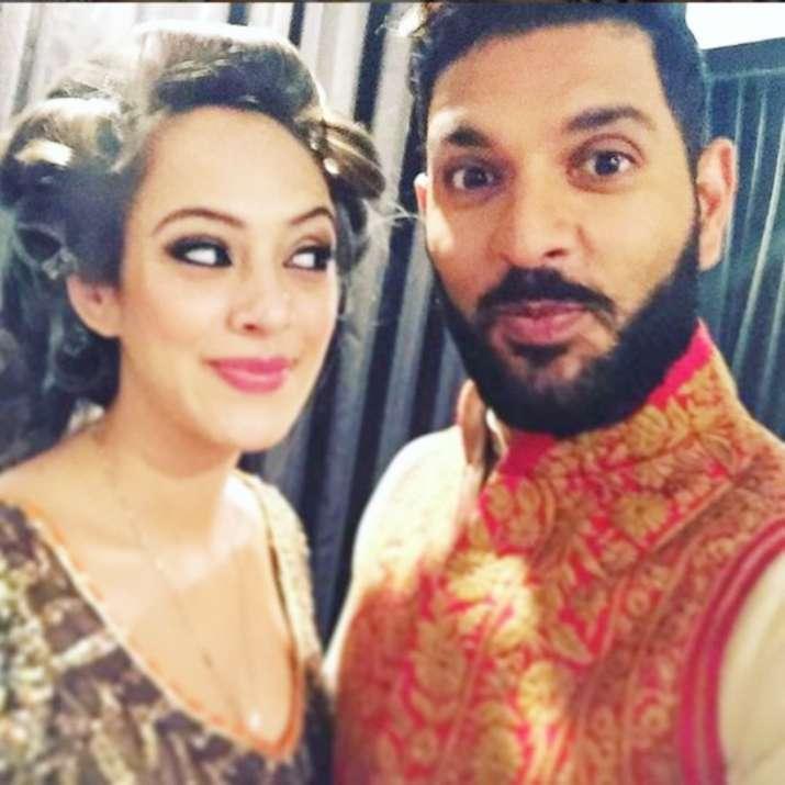India Tv - Yuvraj Singh and Hazel Keech