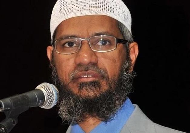File pic of Islamic preacher Zakir Naik
