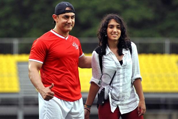 Aamir's daughter Ira says 'Baapu Sehat Ke Liye