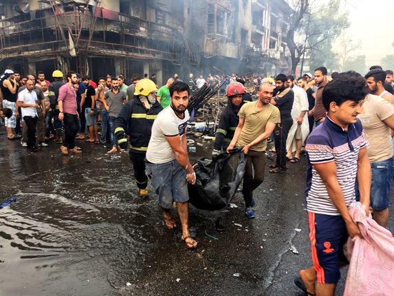 Twin suicide bombings in Baghdad kills 28