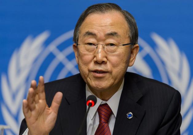 File pic - Outgoing UN Secretary-General Ban Ki-moon