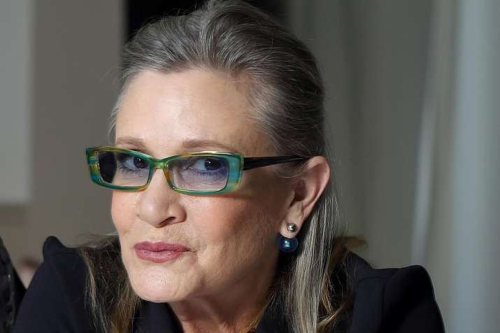 Carrie Fisher- India Tv