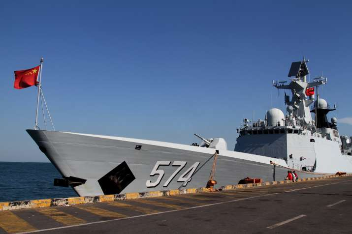 Taiwan says Chinese warships passed south of Island