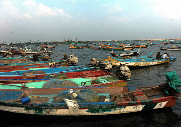 Fishermen have been asked to avoid entering sea water for