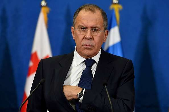 File photo of Foreign minister Sergey Lavrov