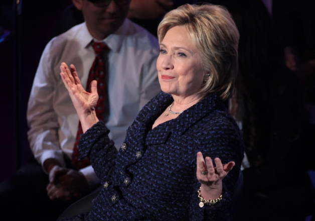 File pic - Hillary Clinton wins popular vote by 29 lakh
