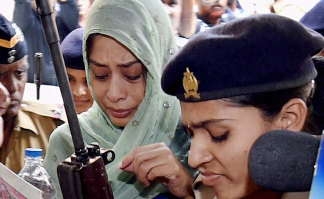 Indrani Mukerjea gets one-day bail to perform father's