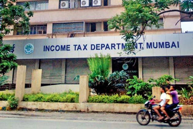 Income Tax Department Mumbai branch