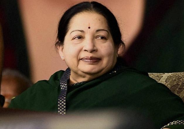 File pic of Tamil Nadu CM Jayalalithaa who passed away last