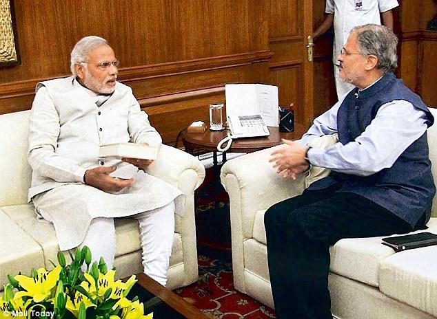 Najeeb Jung meets PM Modi