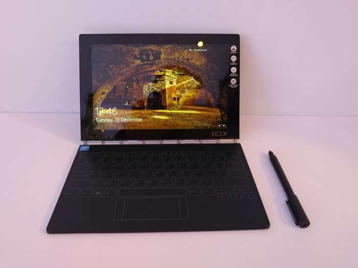 India Tv - Lenovo launches world's thinnest, 2-in-1 Yoga Book in India