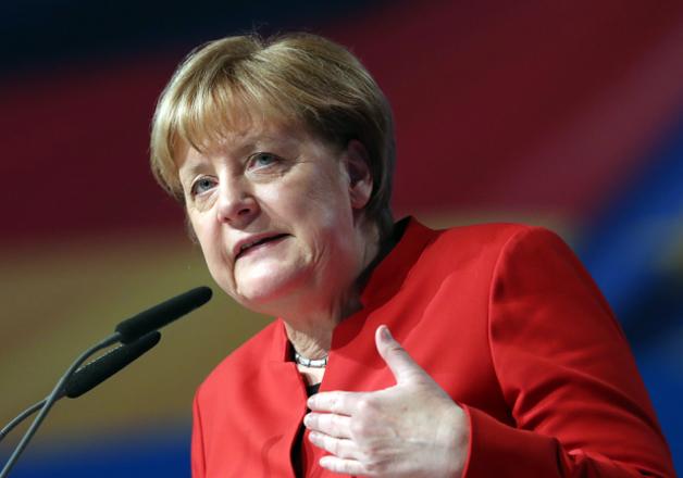 File pic - German Chancellor Angela Merkel