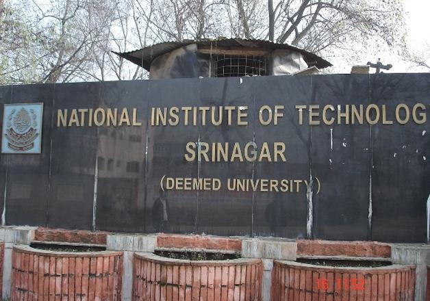 File pic - NIT Srinagar