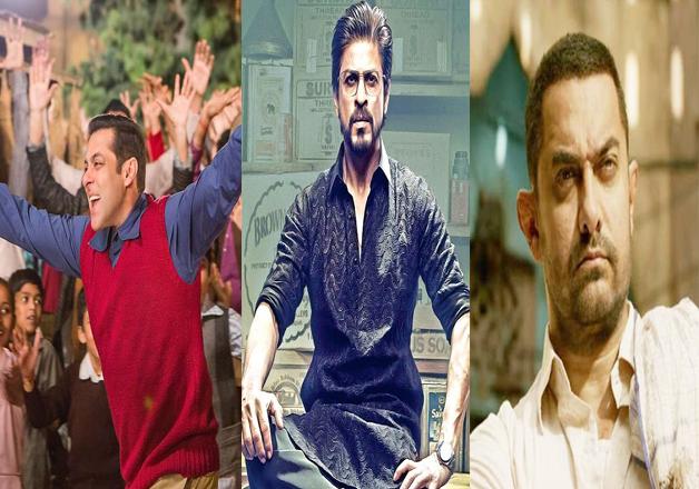Salman, Shah Rukh, Aamir- India Tv