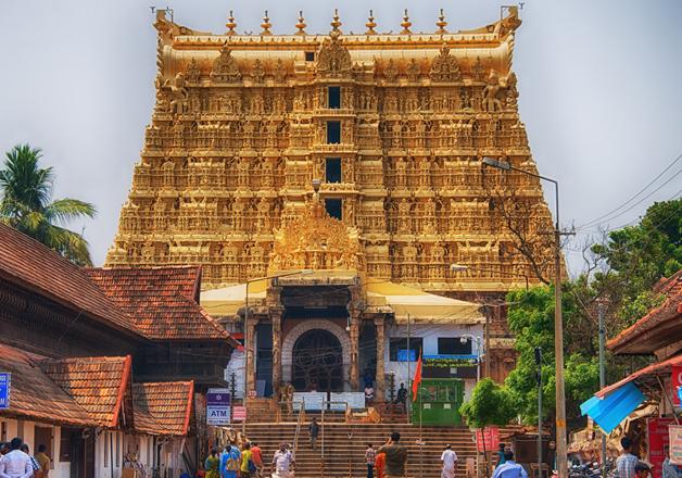 File pic of Sri Padmanabhaswamy Temple