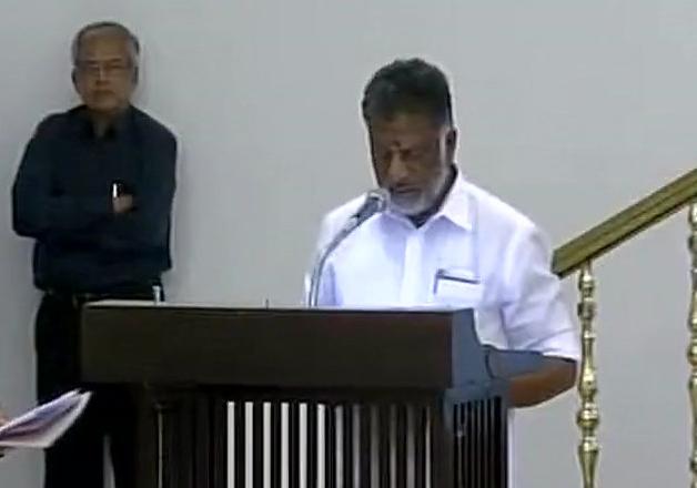 Panneerselvam sworn in as Tamil Nadu Chief Minister for