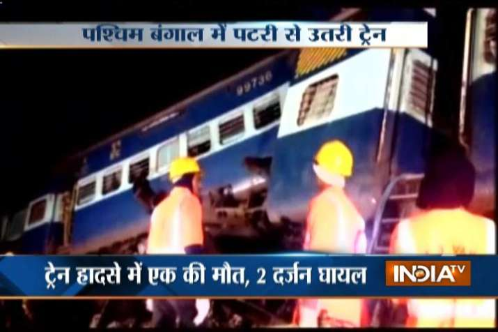 capital express derails in west bengal