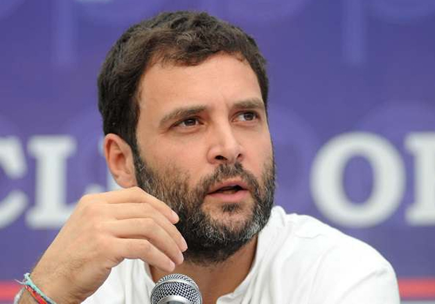 File pic Congress vice-president Rahul Gandhi