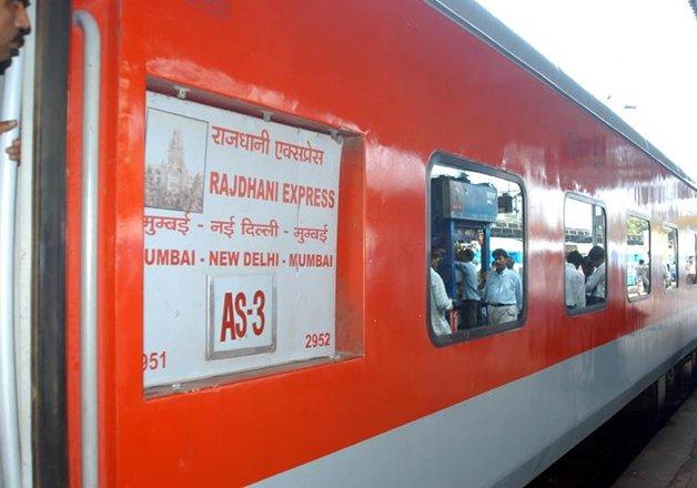 File pic of New Delhi-Mumbai Rajdhani Express