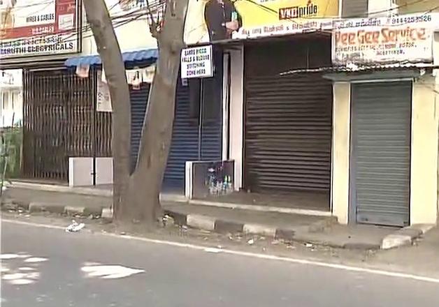 Chennai: Commercial establishments down shutters after