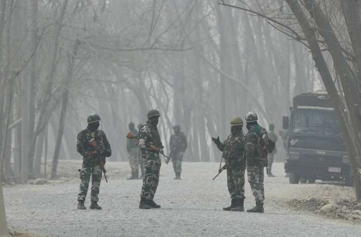 security forces, J, Army, LoC, terror attack