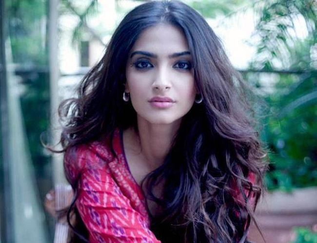 Sonam Kapoor refuses to talk about Sanjay Dutt's biopic