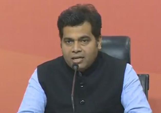 File pic - BJP national secretary Shrikant Sharma