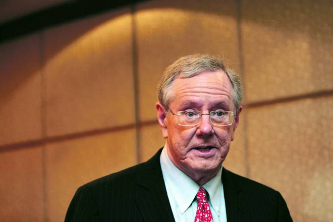 File photo of Steve Forbes, Editor-in-Chief of Forbes