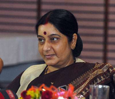 Sushma Swaraj exposes stage-managed kidnapping of Indian in