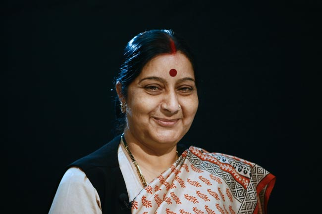 File Photo of Sushma Swaraj