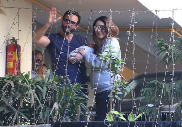 Saif, Kareena and Taimur- India Tv