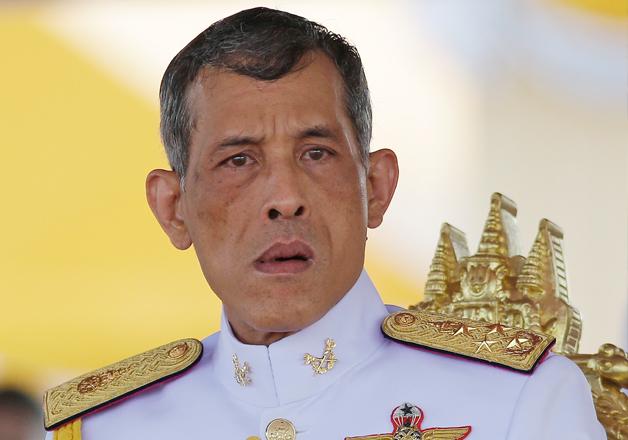 Vajiralongkorn crowned Thailand's new king