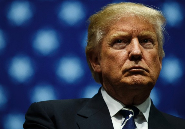 File pic - US-President election Donald Trump
