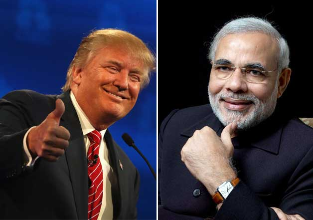 Image result for narendra modi surrendered to donald trump diktats