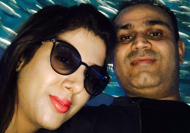 Sehwag had note ban in mind while wishing wife on birthday,