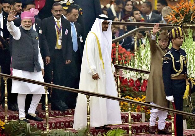UAE Crown Prince Mohammed Bin Zayed Al Nahyan joins select