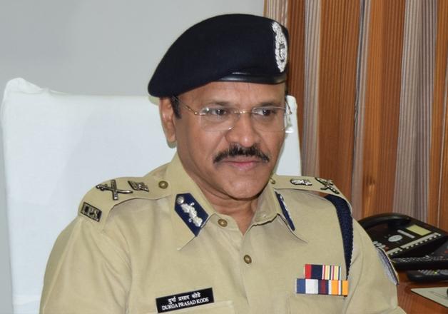 File pic - CRPF Director General K Durga Prasad