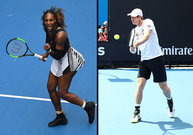 Serena Williams progresses to 2nd round, Andy Murray wins