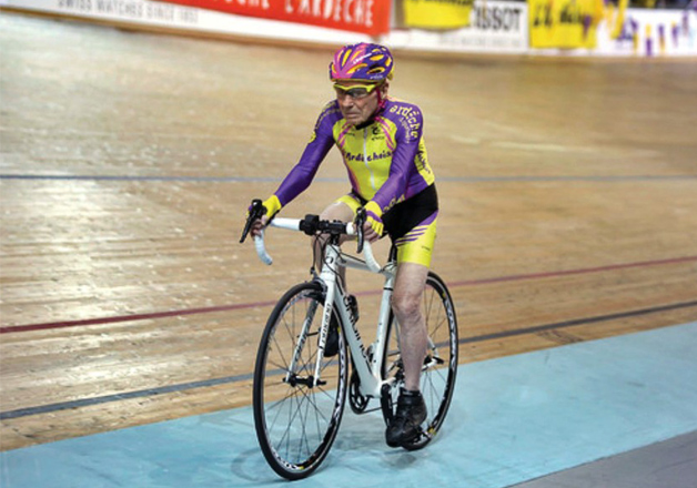 This 105-year-old Man Sets World Record for Cycling 22.5 Km