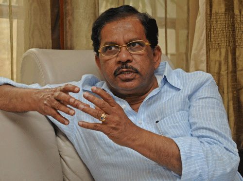 File photo of G. Parameshwara