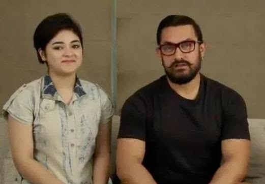 Zaira Wasim, Aamir Khan- India Tv